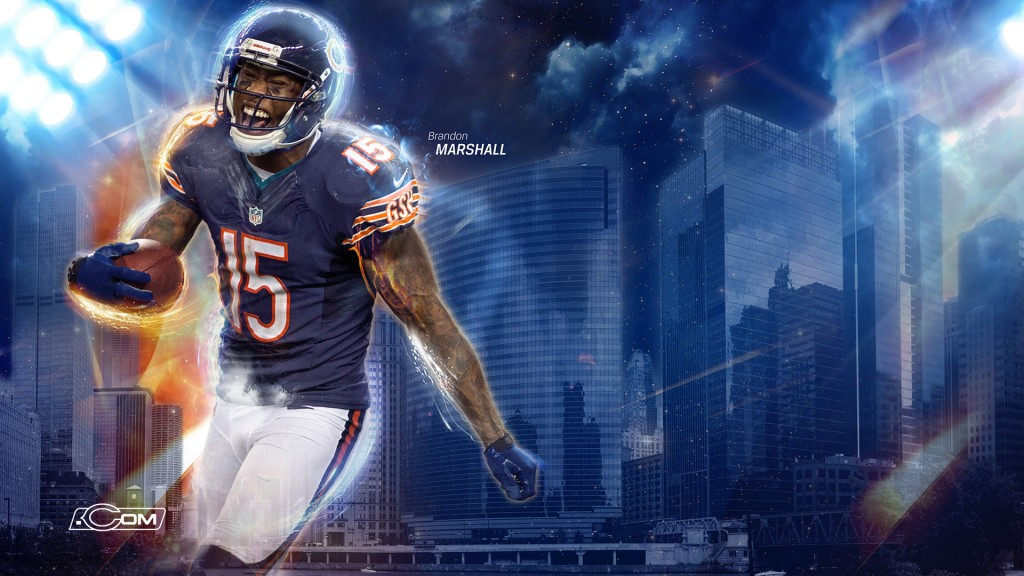Brandon Marshall wallpapers HD