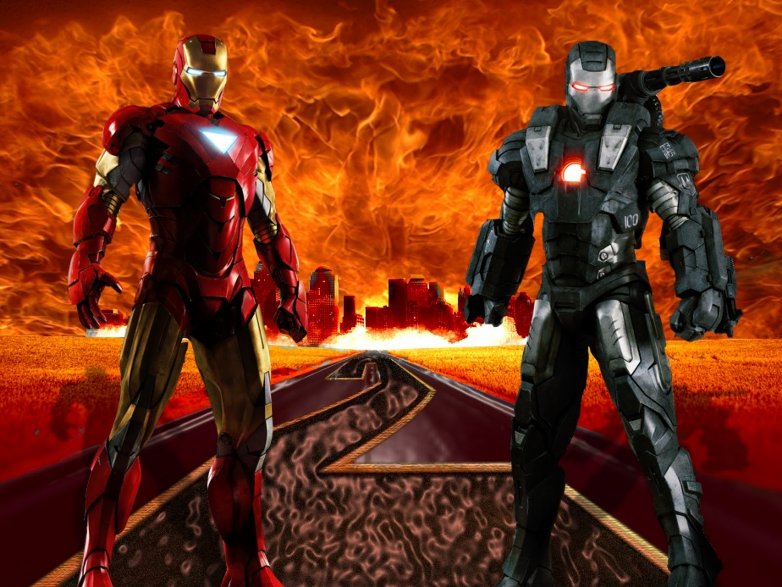 Iron Man 2: Iron Man Wallpapers High Quality