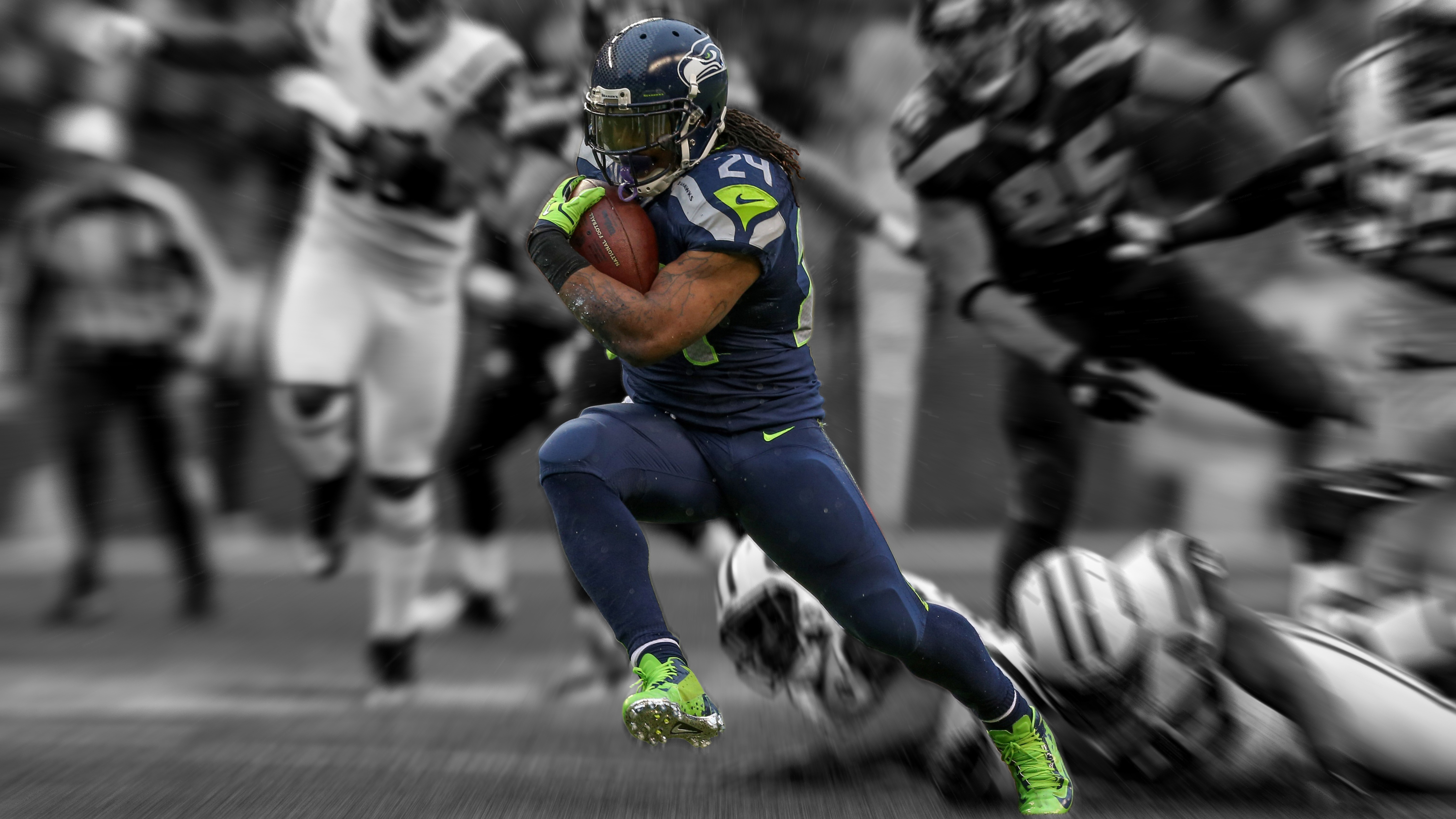 Marshawn Lynch akaBeastMode Tribute Wallpaper by design-by-swerve ...