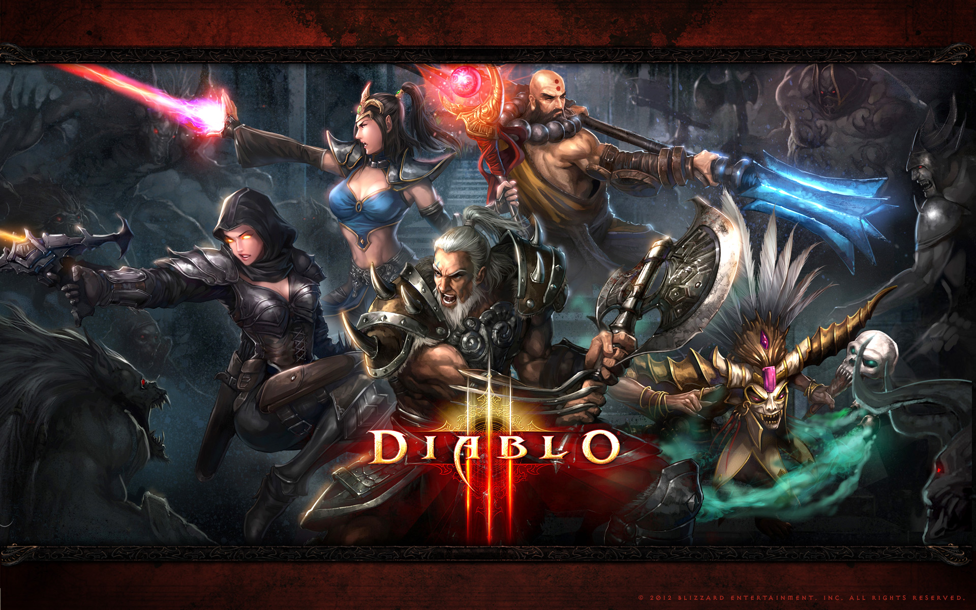 Diablo 3 Wallpapers High Quality Download Free
