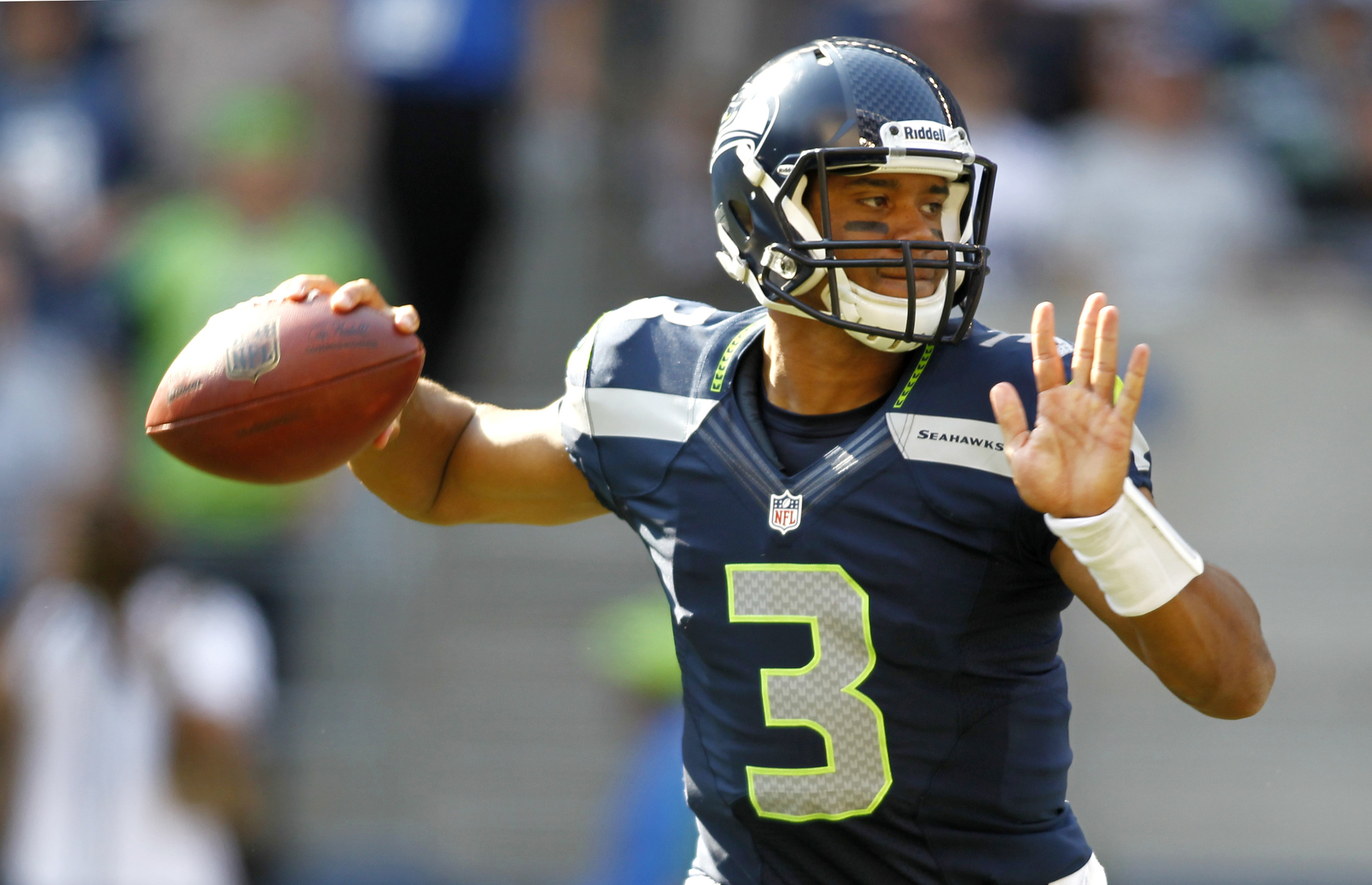 Russell wilson wallpapers high quality download free - Seahawks wallpaper russell wilson ...