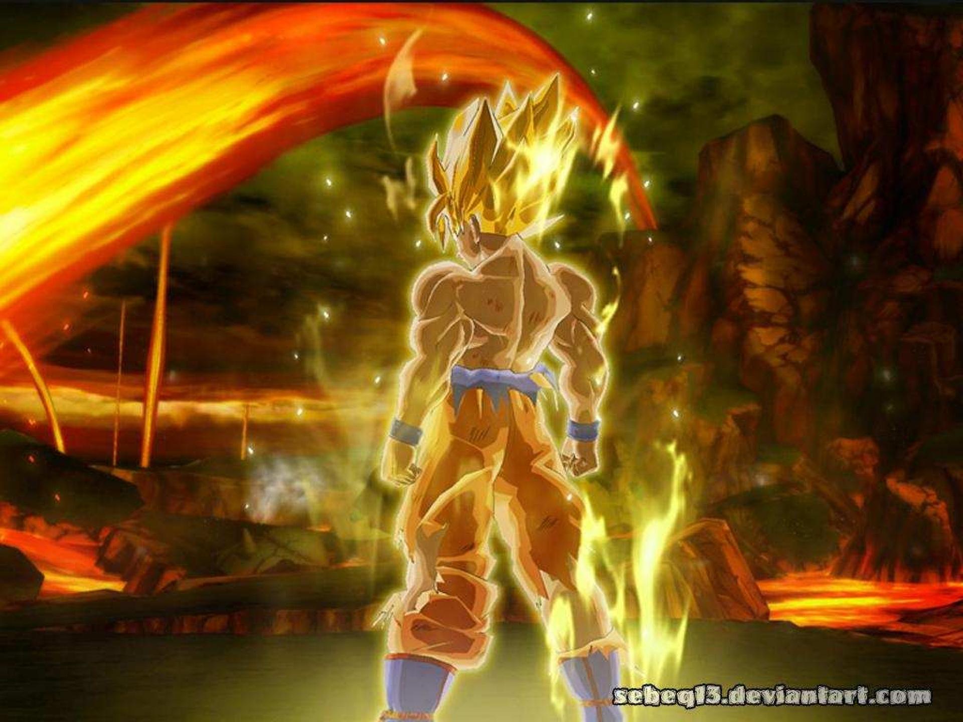 Dragon Ball Z Hd Wallpaper For Android: Dragon Ball Z Goku Wallpapers High Quality