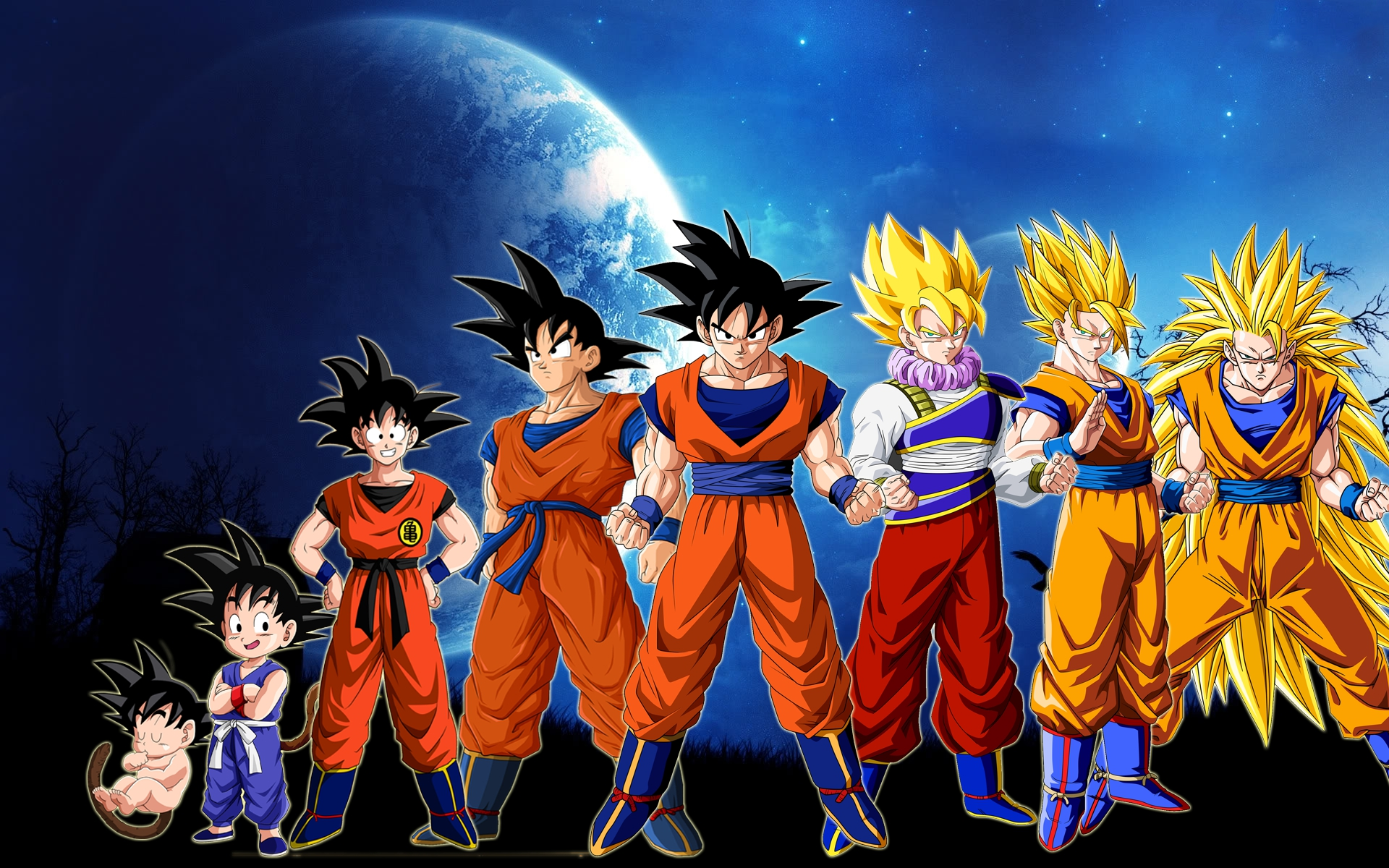 Dragon ball z goku wallpapers high quality download free - Images dragon ball z ...