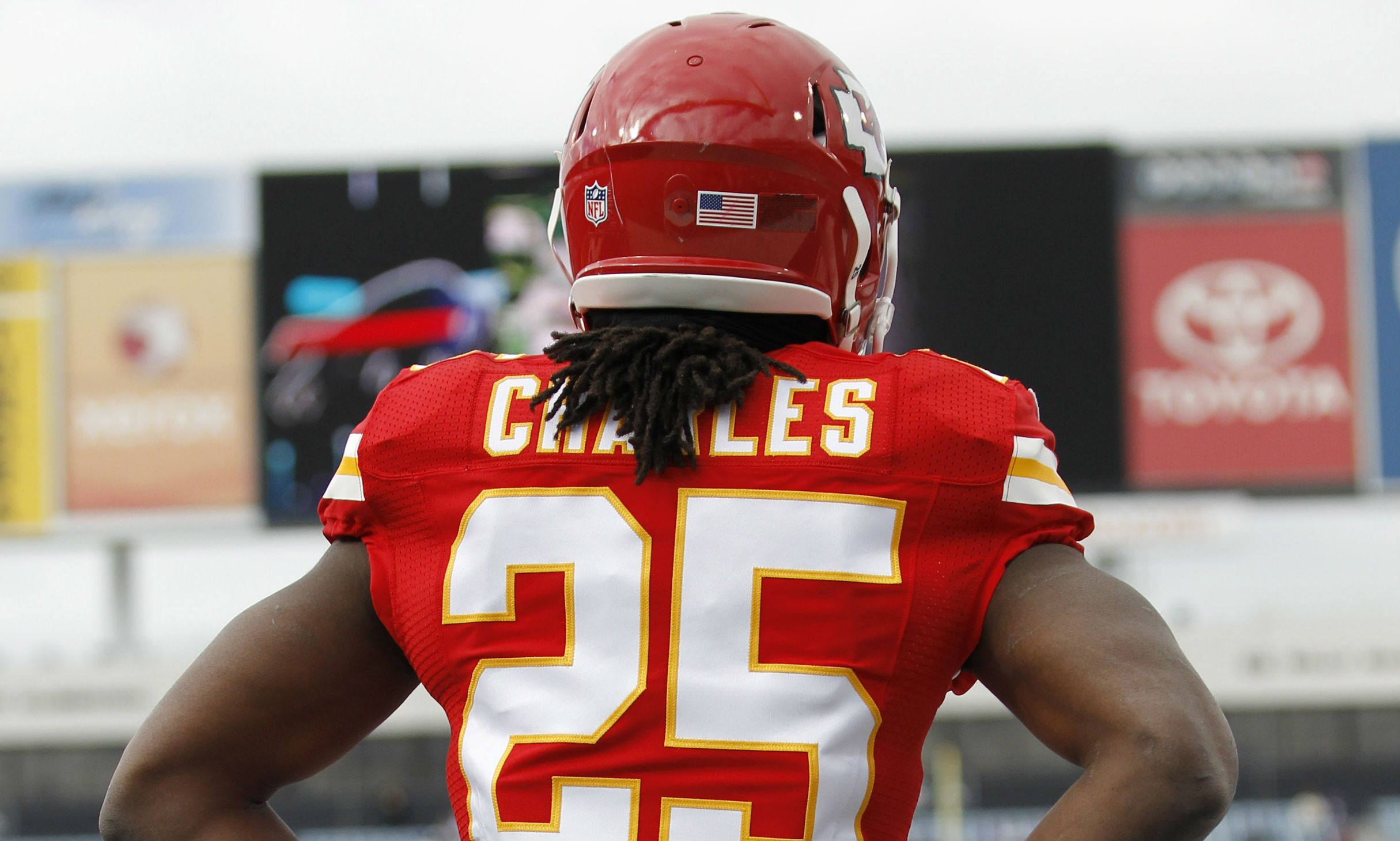 jamaal charles celebration the