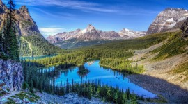 Rocky Mountains background