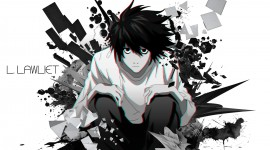 L  Death Note Iphone wallpapers