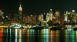 New York City Skyline background