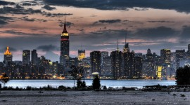 New York City Skyline Widescreen