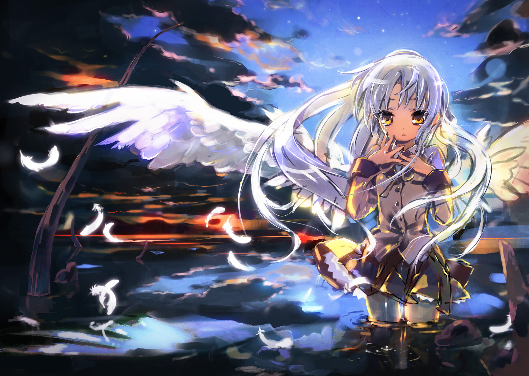 angel beats wallpaper hd android