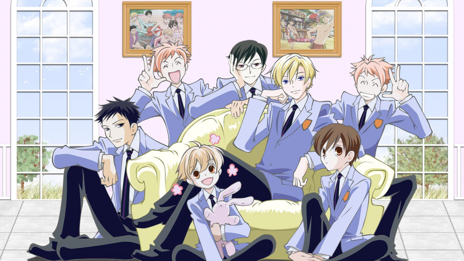 Resultado de imagen de ouran highschool host club wallpaper