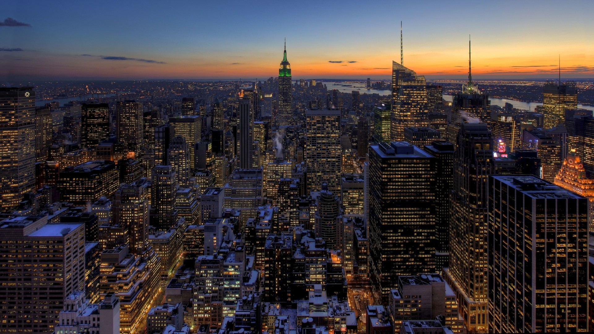 New york city skyline wallpapers high quality download free - New york skyline computer wallpaper ...