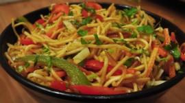 Noodles background