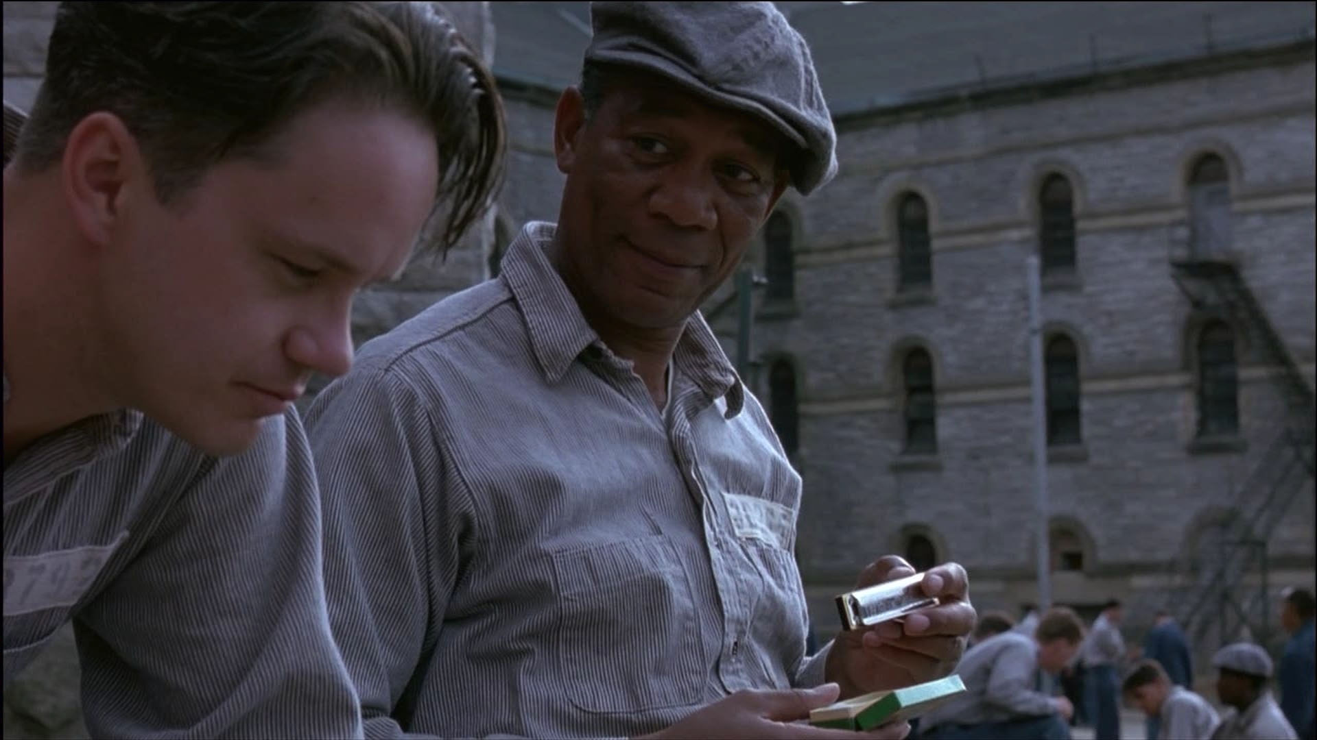 a comparison of two films the shawshank redemption by stephen king and murder in the first by dan go Buy a cheap copy of the shawshank redemption book by stephen king we get to know the two main characters at first i was bored with it.
