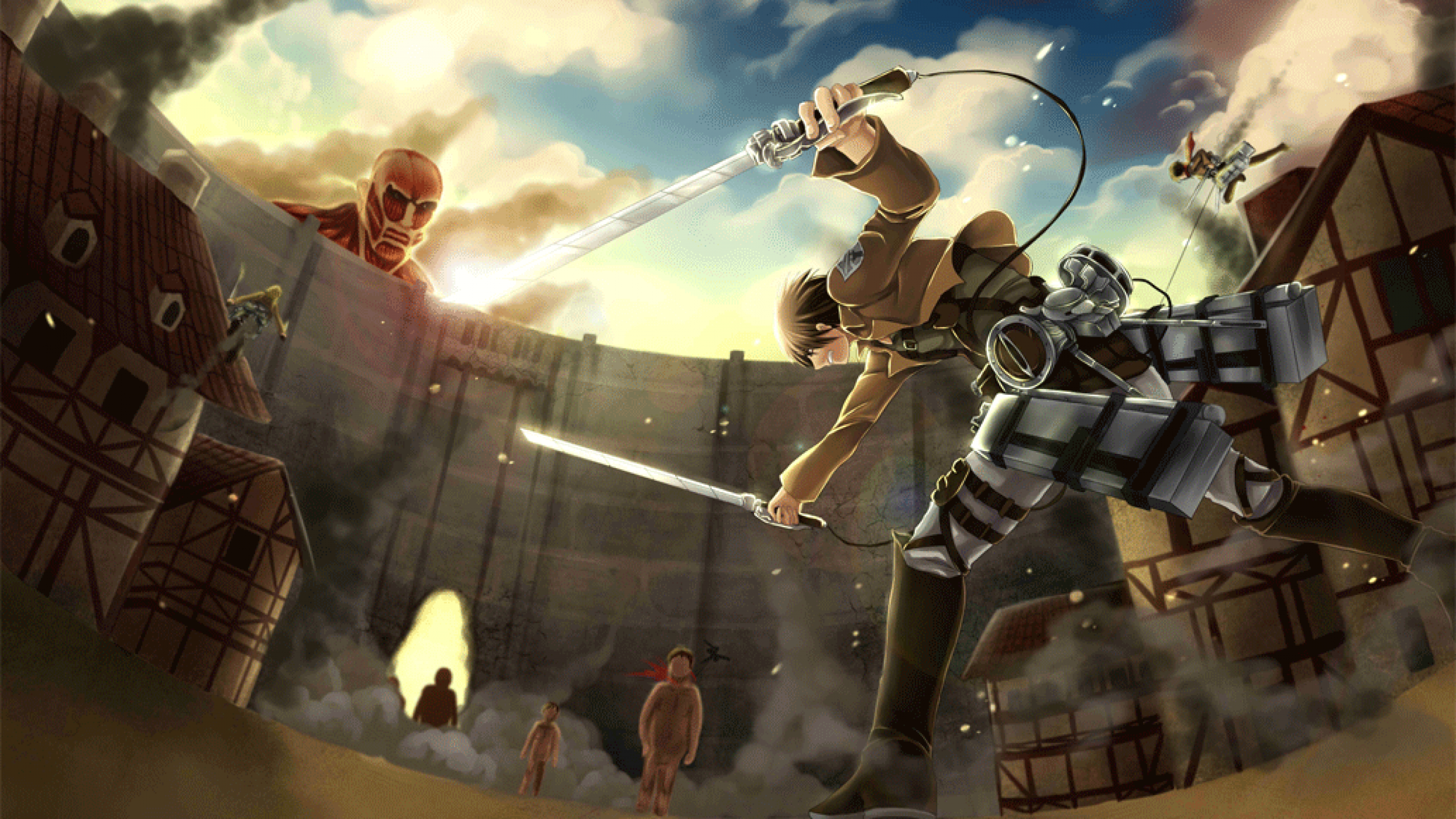 Attack On Titan Wallpapers High Quality Download Free