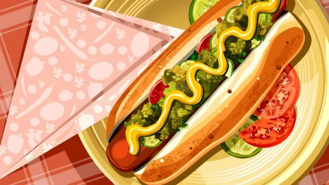Hot Dog wallpapers high quality