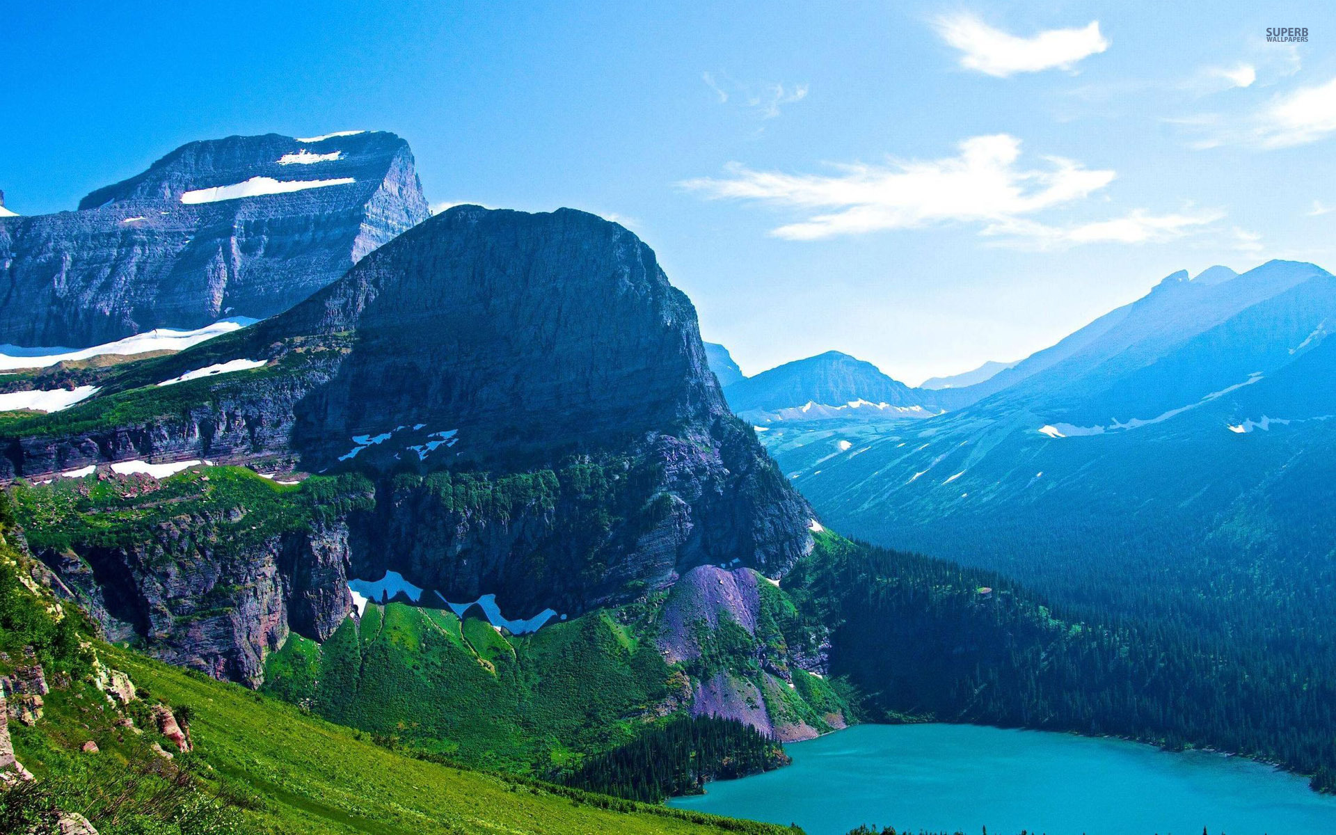 Glacier National Park Wallpapers High Quality Download Free