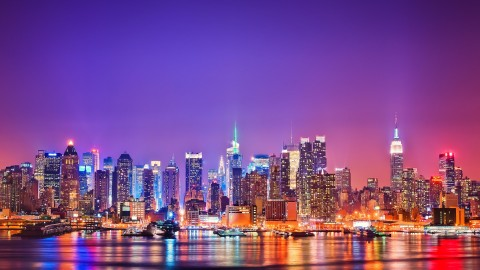 New York City Skyline wallpapers high quality