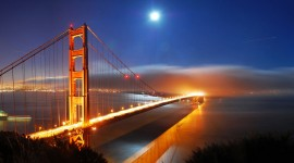 Golden Gate Bridge 1080p