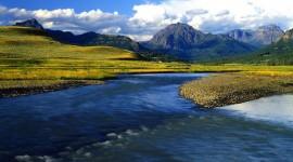 Yellowstone National Park background