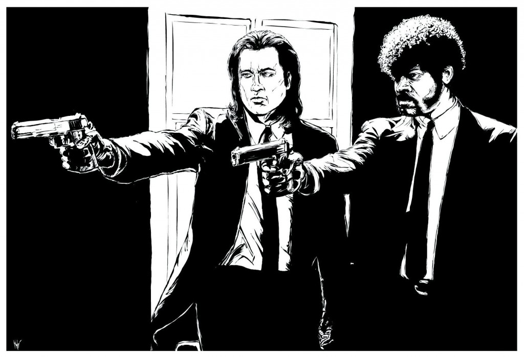 Bible Verse And Image Pulp Fiction Wallpaper: Pulp Fiction Wallpapers High Quality