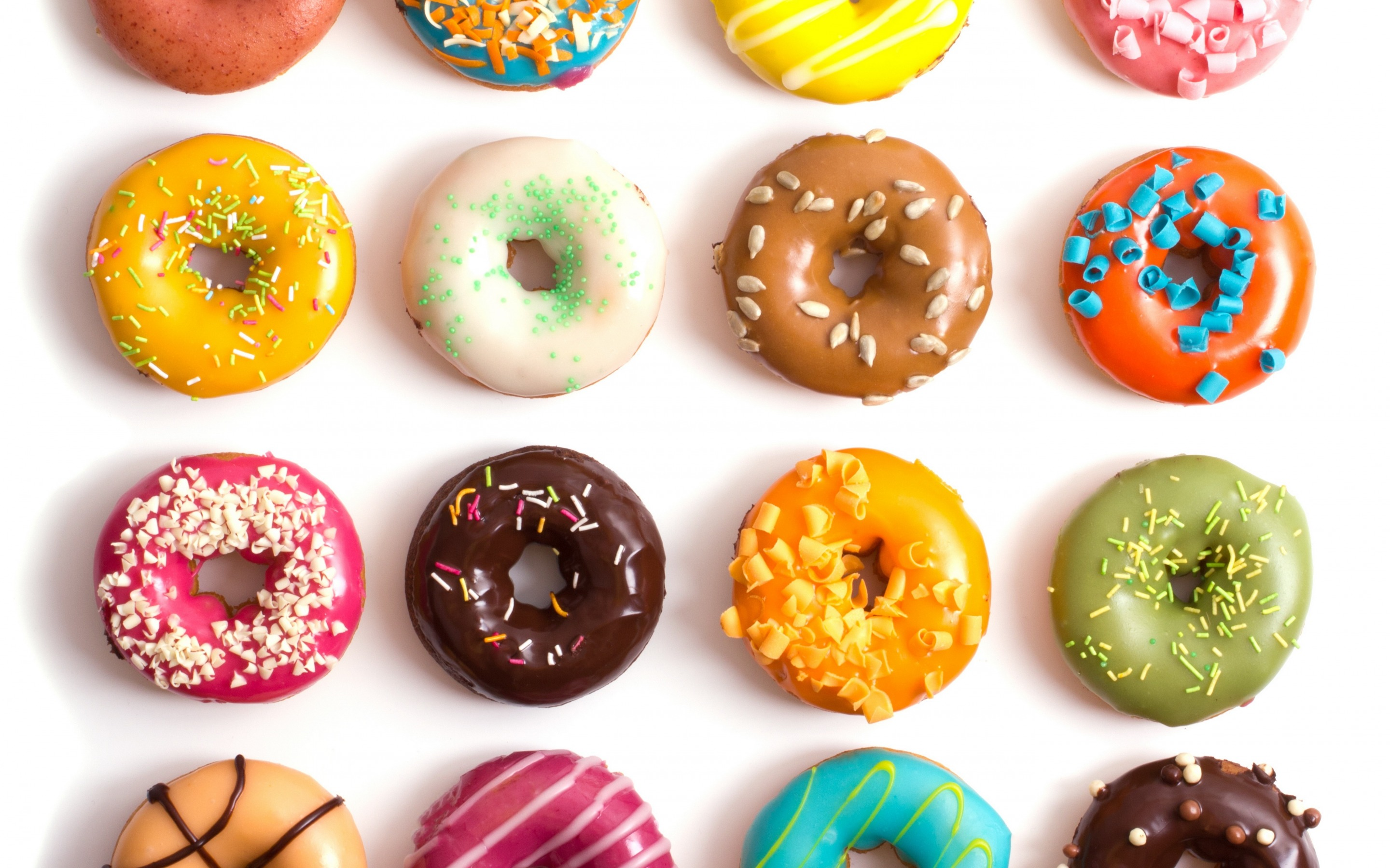 Colorful Food Wallpaper Free Download: Donuts Wallpapers High Quality