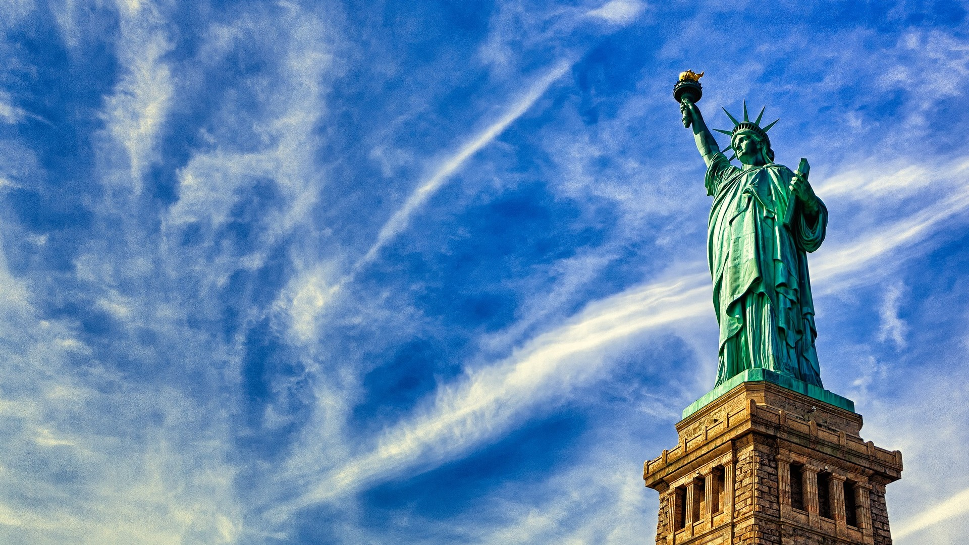 3d Wallpaper For Home Wall India Statue Of Liberty Wallpapers High Quality Download Free