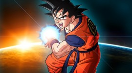 Son Goku Widescreen