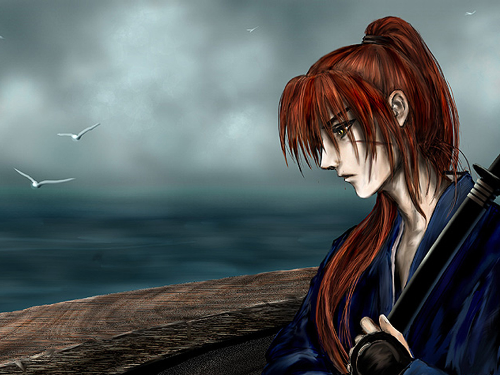 Himura kenshin wallpapers high quality download free himura kenshin high quality wallpapers voltagebd Gallery