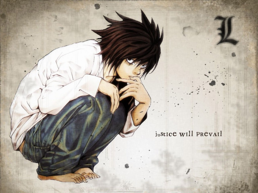 L Death Note wallpapers HD