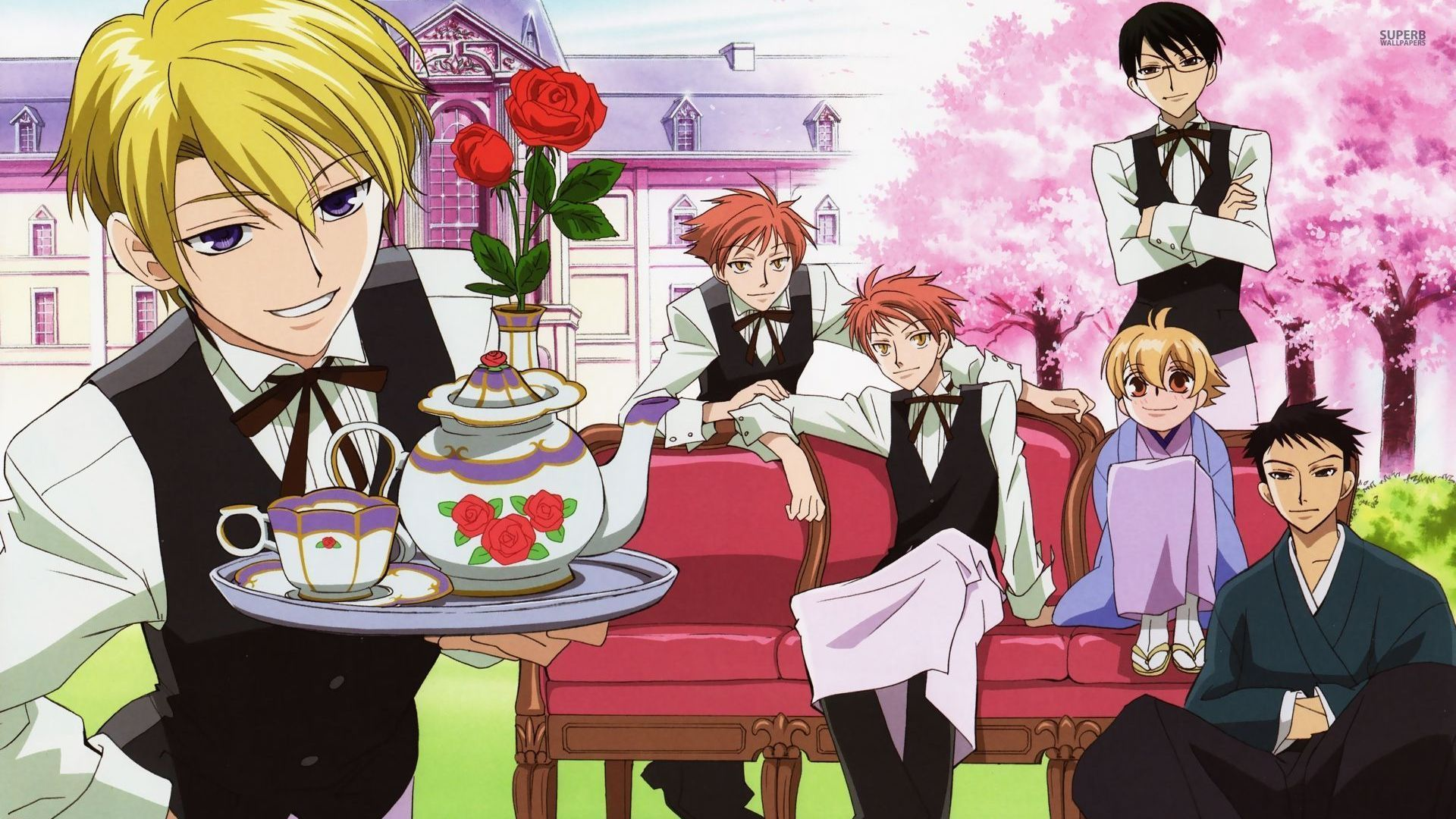 Ouran high school host club wallpapers high quality | download free.