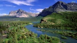 Glacier National Park background