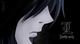 L  Death Note Wide wallpaper