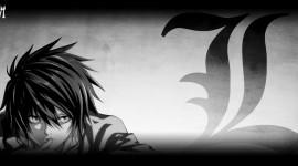 L  Death Note Wallpaper
