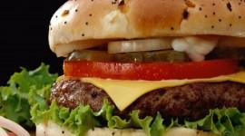 Cheeseburger Wide wallpaper