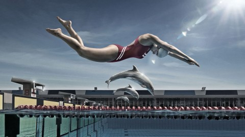 Swimming wallpapers high quality