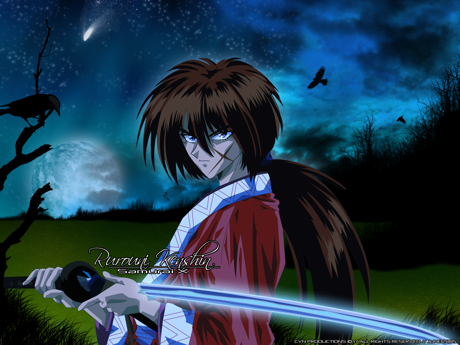kenshin himura wallpaper - photo #31