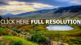 Yellowstone National Park 4K