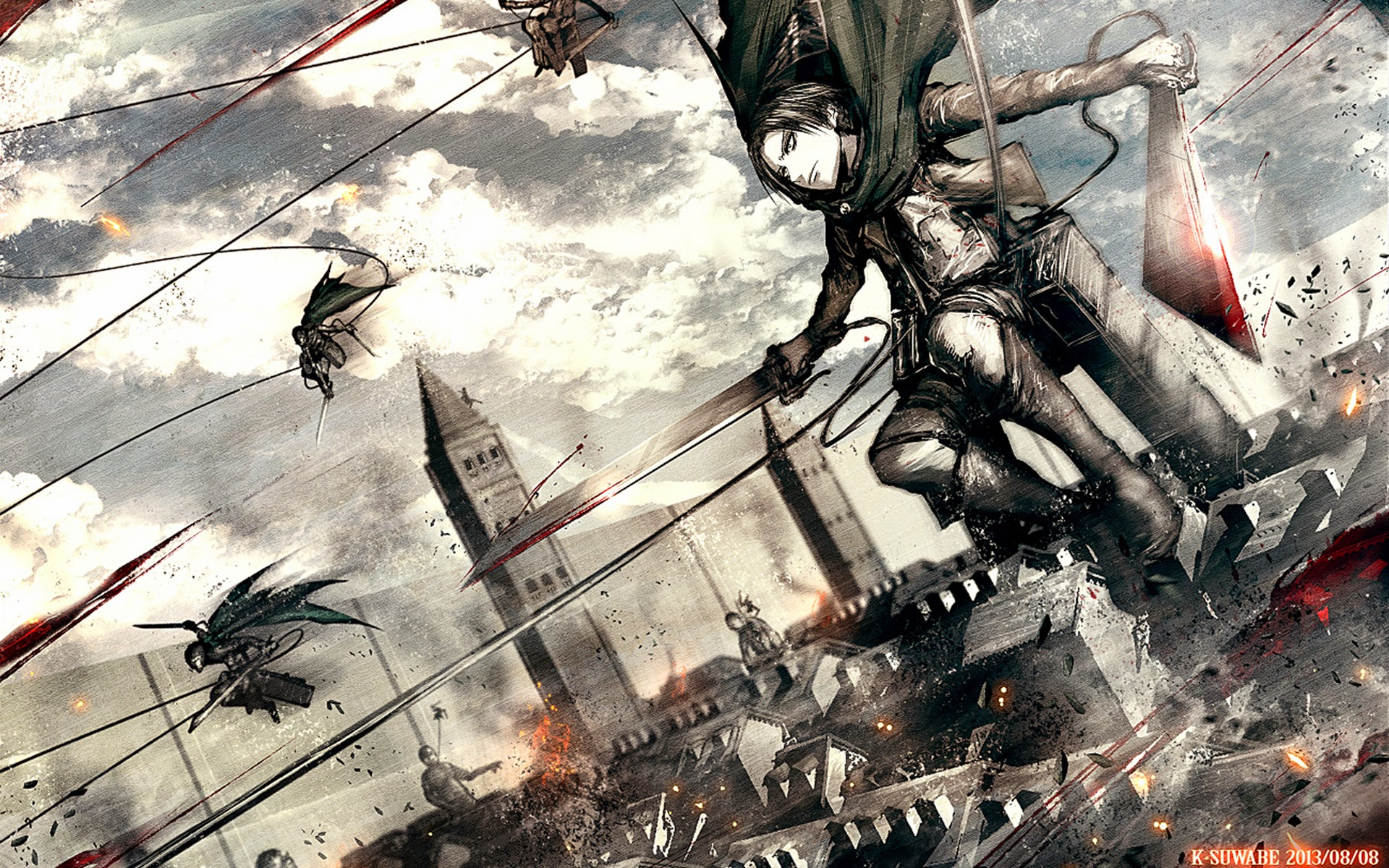 Great Wallpaper High Quality Attack On Titan - 4102_attack_on_titan  Picture_396082.jpg