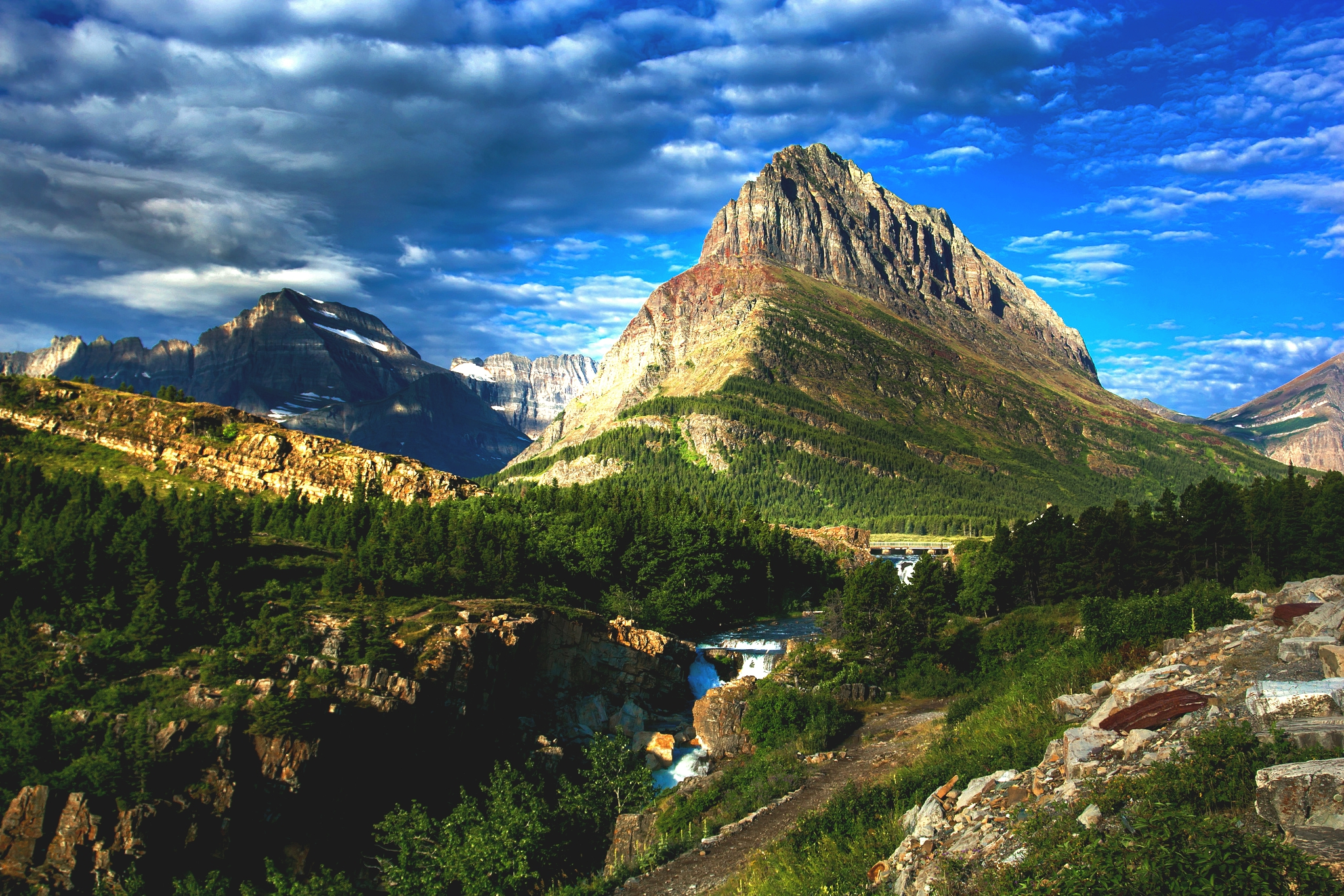 Glacier national park wallpapers high quality download free - Foto walpepeer ...