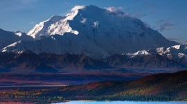 Mount Mckinley background