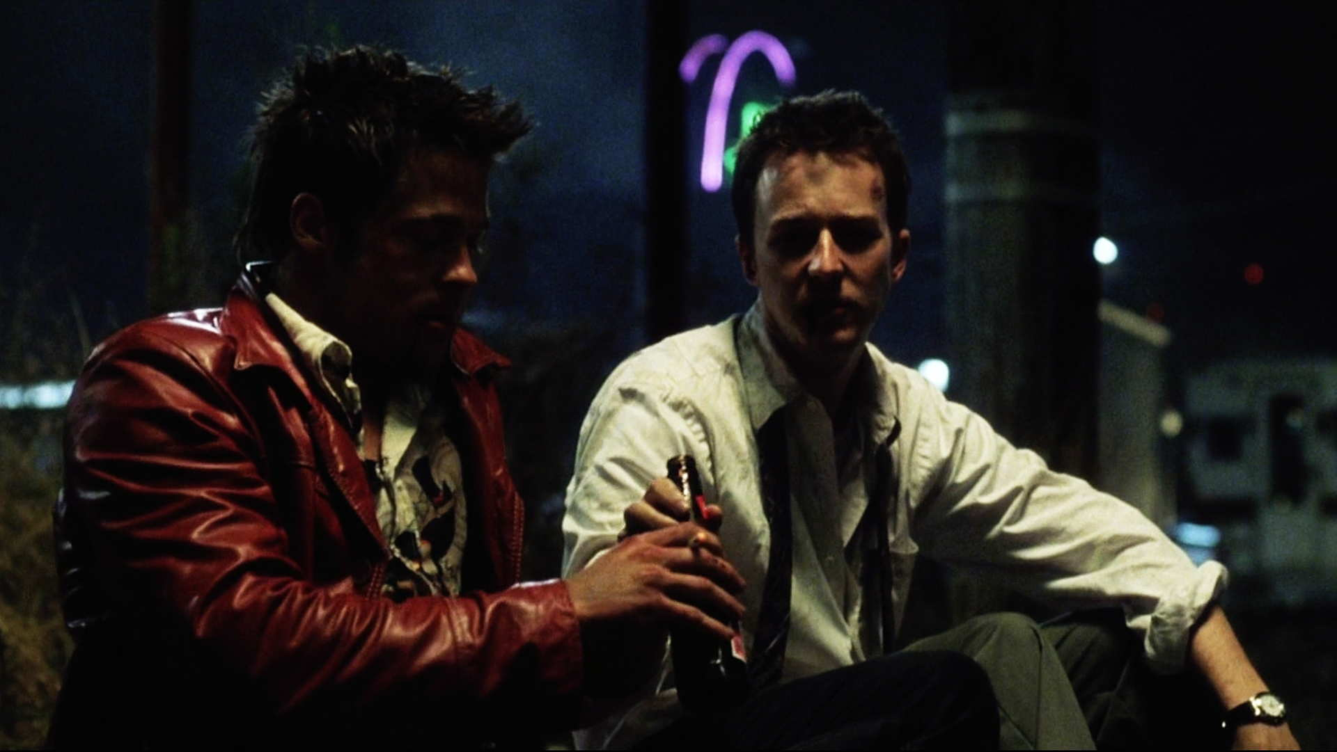fight club movie theme A review of fight club exploring the themes of nihilism and enlightenment.