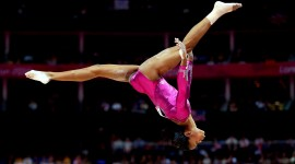 Gymnastics background