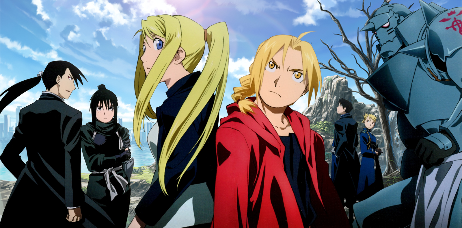 fullmetal alchemist brotherhood wallpapers high quality