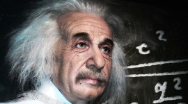 Albert Einstein Widescreen