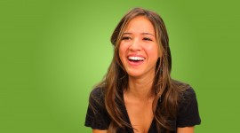 Kelsey Chow Wide wallpaper