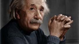 Albert Einstein 4K