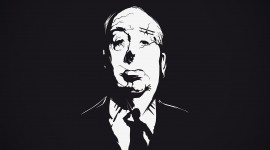 Alfred Hitchcock Wide wallpaper