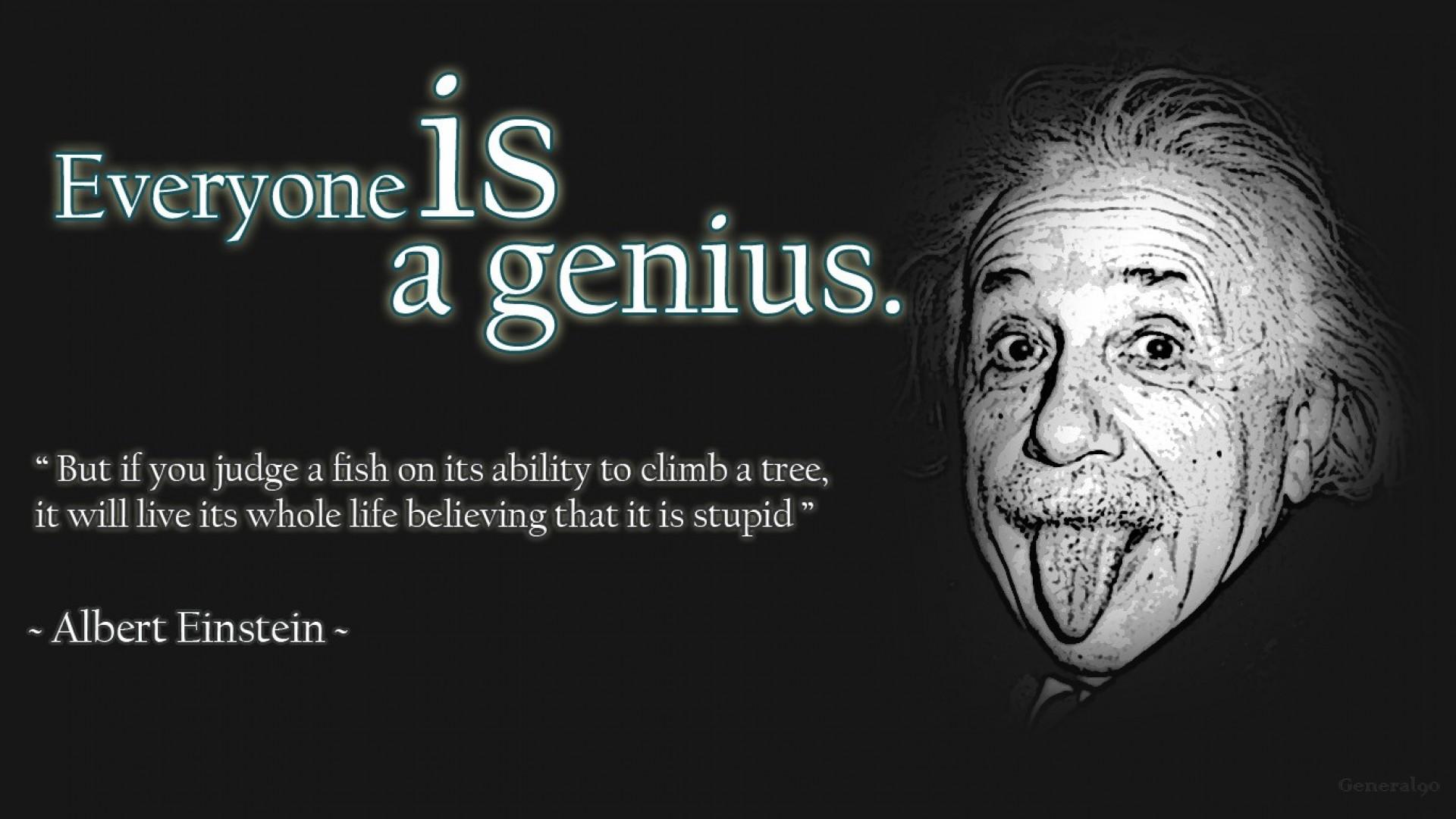 Albert Einstein Quote HD desktop wallpaper : Widescreen : High ...
