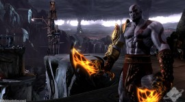 God Of War Wide wallpaper