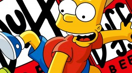 Simpsons background